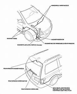 Windshield Washer On 2006 Honda Odyssey Does Not Work