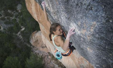 margo hayes sends la rambla aa climb za rock