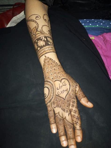 superlative full hand mehndi design   sheideas