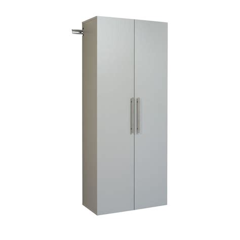 suncast 30 in x 72 in 3 shelf resin tall storage cabinet