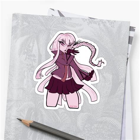 kyoko kirigiri sticker by kodatboy redbubble