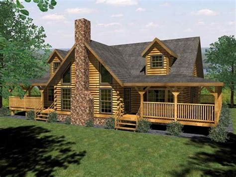 cabin style homes log cabin house plans single story log cabin house plans