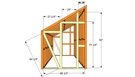 lean to shed plans 8x8 diy 8x8 shed plans 8x4 shedolla