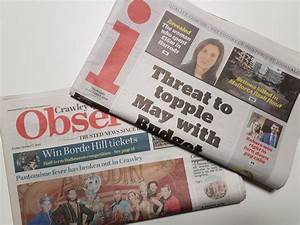 Future uncertain for Sussex newspapers as owner announces ...