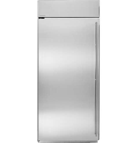 ge monogram  built   freezer zifsnxlh ge appliances