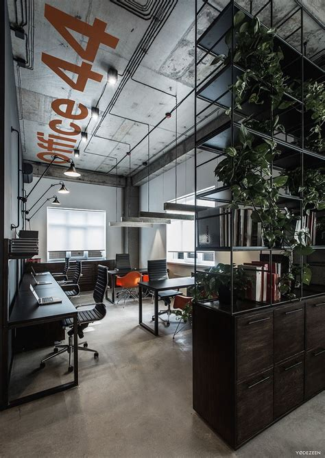 Interior Company by Cool Offices In Industrial Style