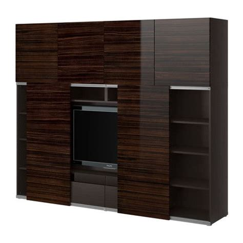 Ikea Besta Birke by Besta Entertainment Center From Ikea For The Home
