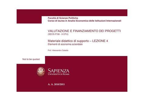 dispense contabilità contabilit 224 economico patrimoniale dispense