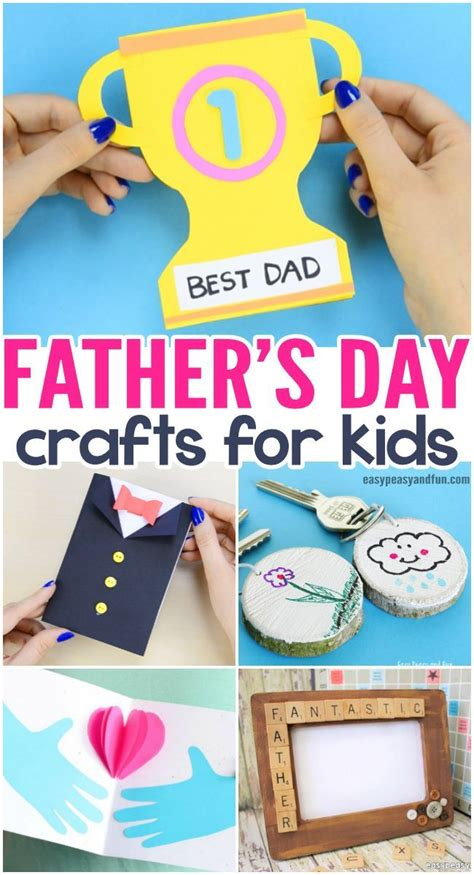 fathers day crafts cards art  craft ideas  kids