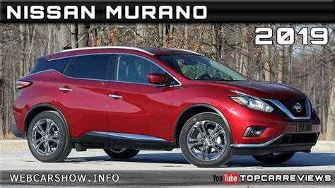 2019 Nissan Murano Review Rendered Price Specs Release