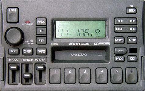 volvo   sc  sc sc  radio code decoding