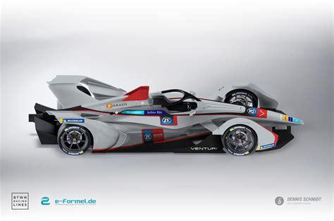 formel e auto galerie das neue formel e auto in aktuellen m 246 glichen