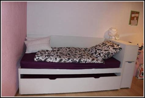 Bett Mit Ablage Kopfteil  Betten  House Und Dekor
