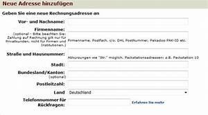 Packstation Adresse ändern : rechnungsadresse bei amazon ndern schritt f r schritt erkl rt ~ Orissabook.com Haus und Dekorationen