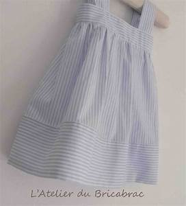 robe a rayures pop couture With patron robe bébé gratuit