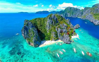 Palawan Philippines 4k Nido El Desktop Aerial