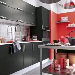 cuisine americaine leroy merlin meuble de cuisine noir delinia d 233 lice leroy merlin