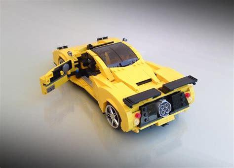 Lego Cars by Lego Car Pagani Zonda C12 S Gadgetsin