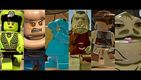 lego star wars  force awakens jabbas palace trailer