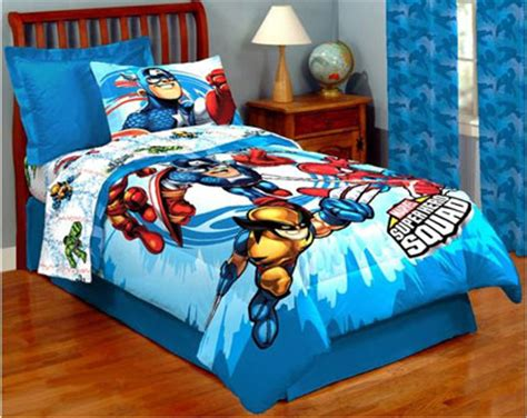 marvel superhero squad twin bedding sheet set twin bedding