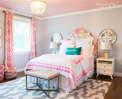 Brooke's Pink Sky Big Girl Room