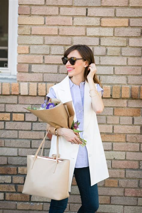 6 Chic Ways To Wear A Vest Glam Radar