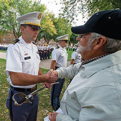 corps  cadets progressive leadership  service model