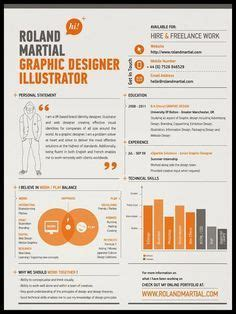 10 best ideas about graphically designed resumes on
