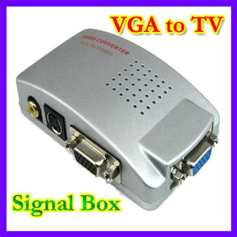 Harga Rca Digital Tv Box pc laptop vga to tv rca composite s converter box