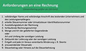 Inhalt Rechnung : grafik anforderungen an einer rechnung convictorius ~ Themetempest.com Abrechnung