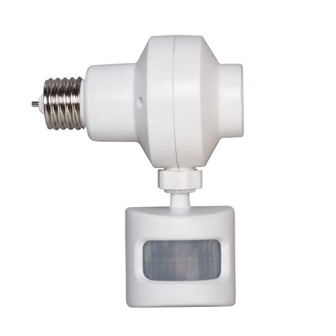 how to choose outdoor motion sensor light bulb adapter