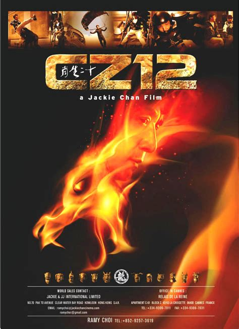 chinese zodiac   trailer poster jackie chan