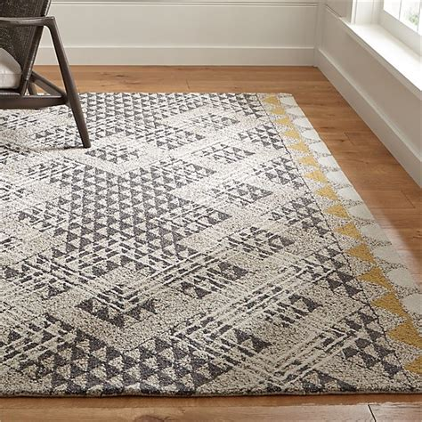 thea hand hooked wool rug crate  barrel