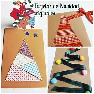 DIY: 3 tarjetas de Navidad originales hechas a mano Regalo y Fiesta
