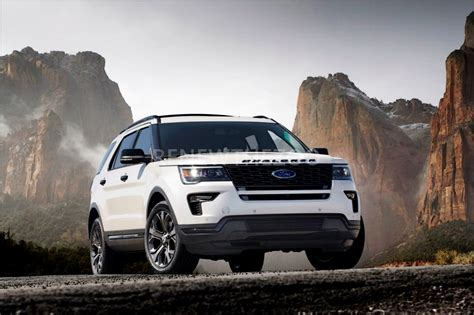 Next Ford Explorer Redesign by 2019 Ford Explorer Sport Redesign Release Date Specs