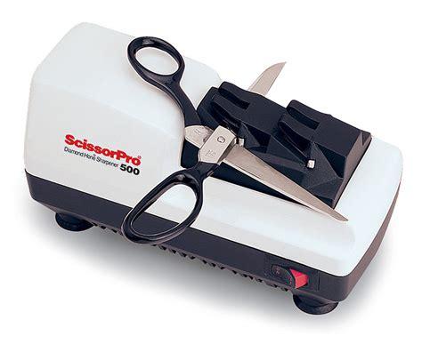 scissorpro electric scissor sharpener 500