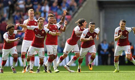 Kalahkan Chelsea, Arsenal Juara Community Shield 2017