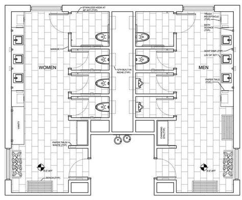 Bathroom Design Floor Plans by Commercial Ada Bathroom Floor Plans Restroom Design