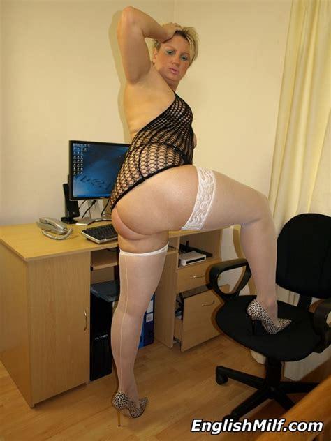 Dirty Blonde Milf In White Sexy Women In Lingerie