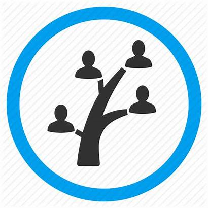 Icon Icons Genealogy Tree Relatives Hierarchy Parents
