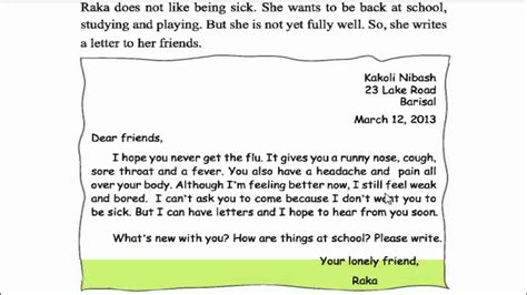 a letter to my best friend how to write a letter to your school friend in 31973