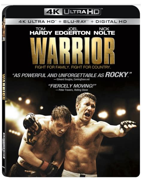 WARRIOR Starring Tom Hardy and Joel Edgerton Available on ...