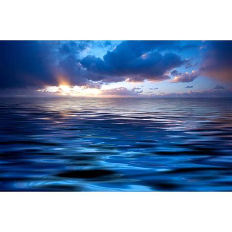 atardecer en el mar fotomurales