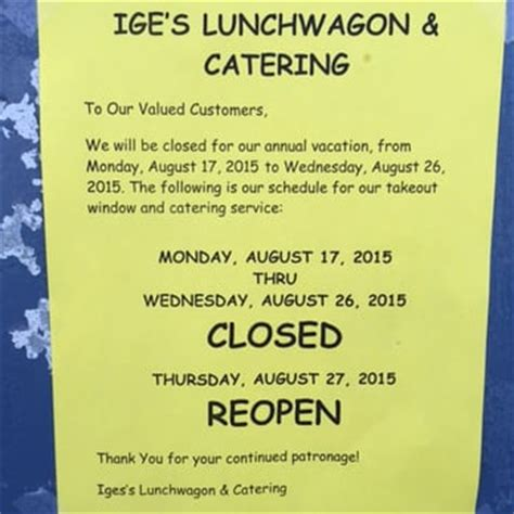 iges lunchwagon catering    reviews