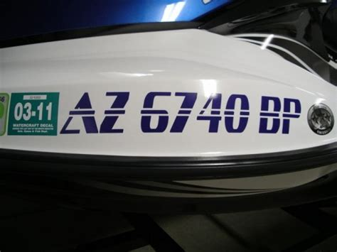 Paint Boat Registration Number by Silly Cactus Custom Boat And Jet Ski Registration Numbers
