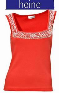 Heine De Sale Online Shop : abend top von heine gr 42 koralle rot pailletten glitzer shirt hemd damen neu ebay ~ Bigdaddyawards.com Haus und Dekorationen