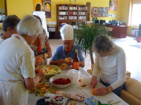 second groupe de cuisine senioriales