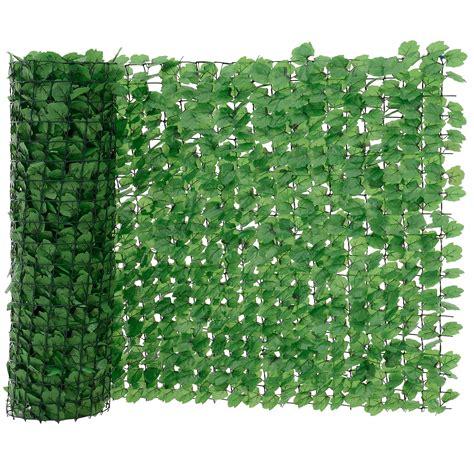 [neuhaus]® Blätter Zaun Grün Sichtschutz Windschutz Zaun