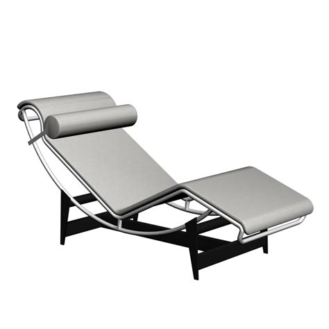 chaise com lc4 chaise longue design and decorate your room in 3d