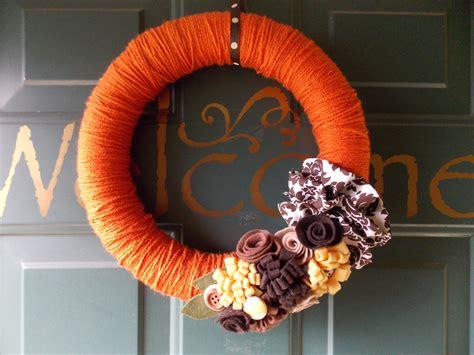 autumn wreath ideas diy fall wreaths ideas classy clutter